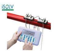 Ultrasonic Clamp-on Flowmeter  iSOLV TUF339 Portable Ultrasonic ClampOn Flowmeter